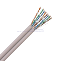 U/UTP Dual CAT 5E BC LSZH Twisted Pair Installation Cable