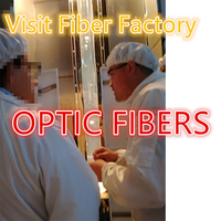 Take you to visit the fibra óptica fiber optic cores optical fiber perform production department Monomode G652D