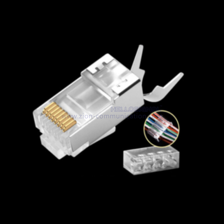 CAT7 FTP fix tail clamp 8P8C FTC 130 RJ45 Connector
