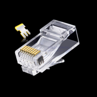 Cat6A UTP 8P8C RJ45 connector