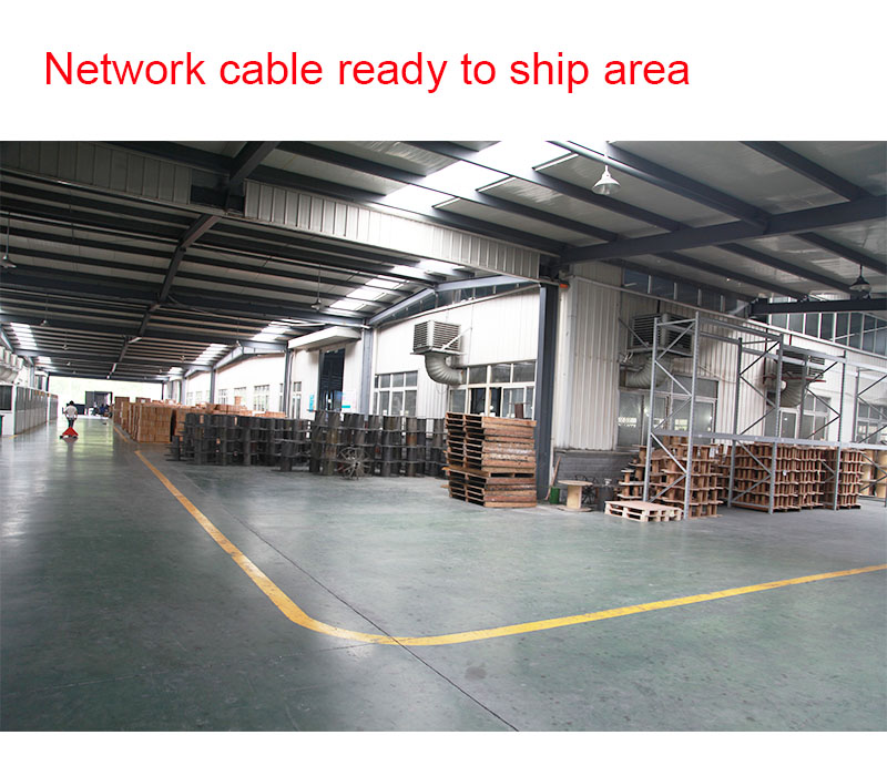 Network cable production equipment 9