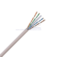 U/UTP CAT6 4Pairs CCA Conductor Twisted Pair Installation Cable