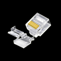 CAT6 UTP Short 2PCS RJ45 Connector