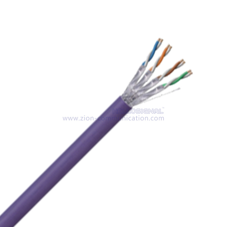U/FTP CAT 6A BC PVC CMP Twisted Pair Installation Cable