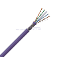 SF/UTP CAT6 BC PVC CMP Twisted Pair Installation Cable