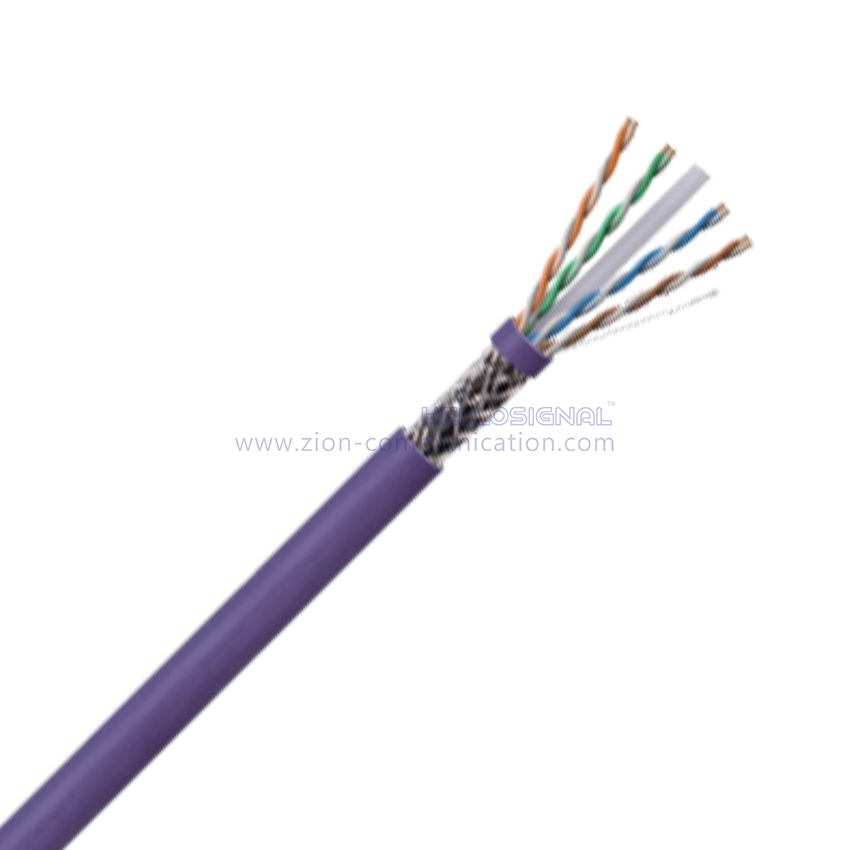 SF/UTP CAT6 BC PVC CMR Twisted Pair Installation Cable