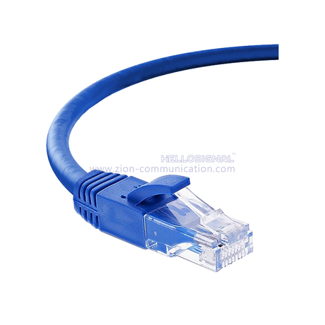 U/UTP unshielded CAT 6A cable Twisted 4 Pairs patch cord