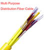 cable fibra óptica Multi Purpose Riser Distribution Cable, 24-108 fiber multi-unit with 6-12 fiber subunits GJPFJV≥24F