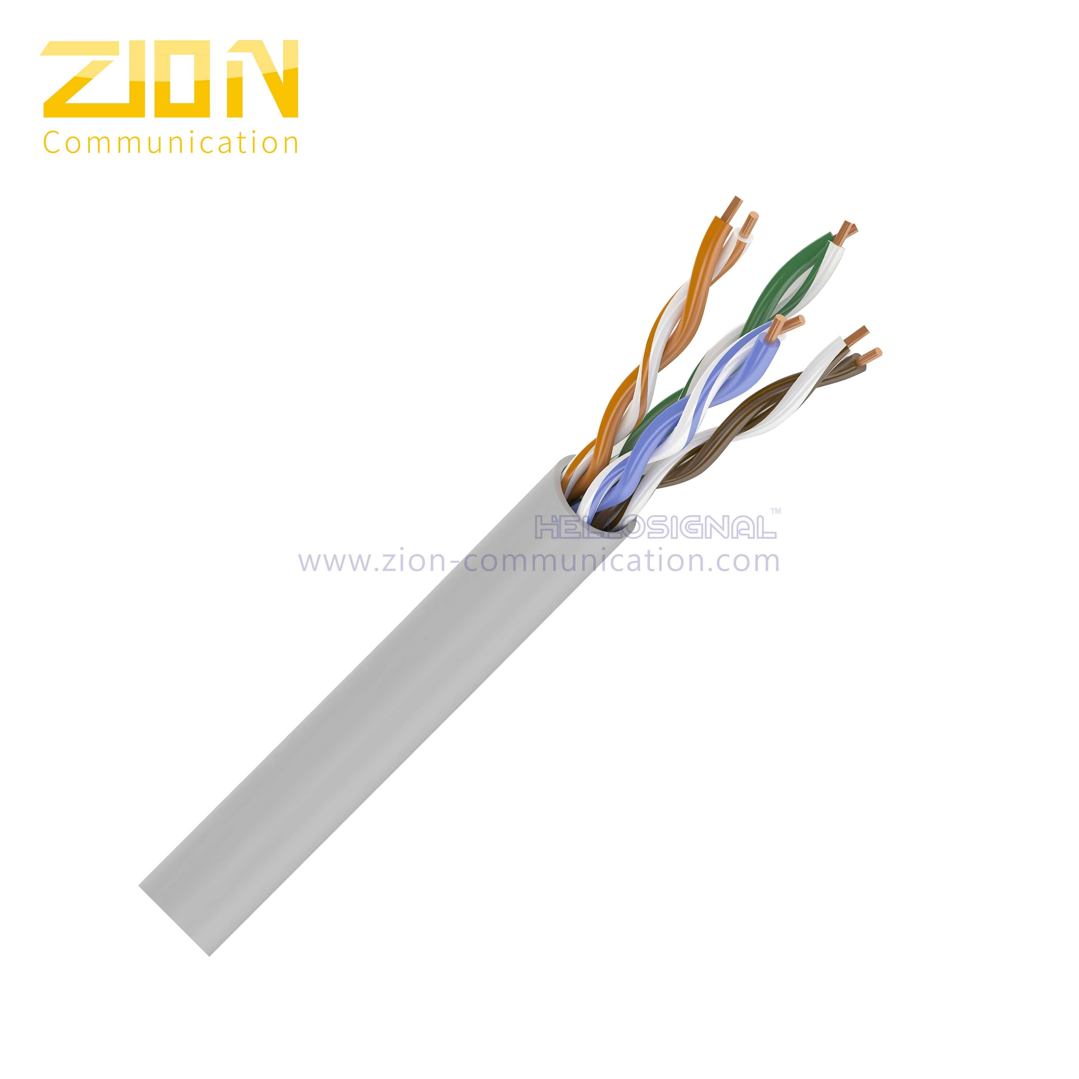500 FT CAT5E Cable Blue 350MHz UTP cm Solid Copper 24 AWG Conductor Ethernet Cable 350MHz UTP 24 AWG cm Solid Copper 4 Pair 500 FT Bulk Blue PVC Jacket