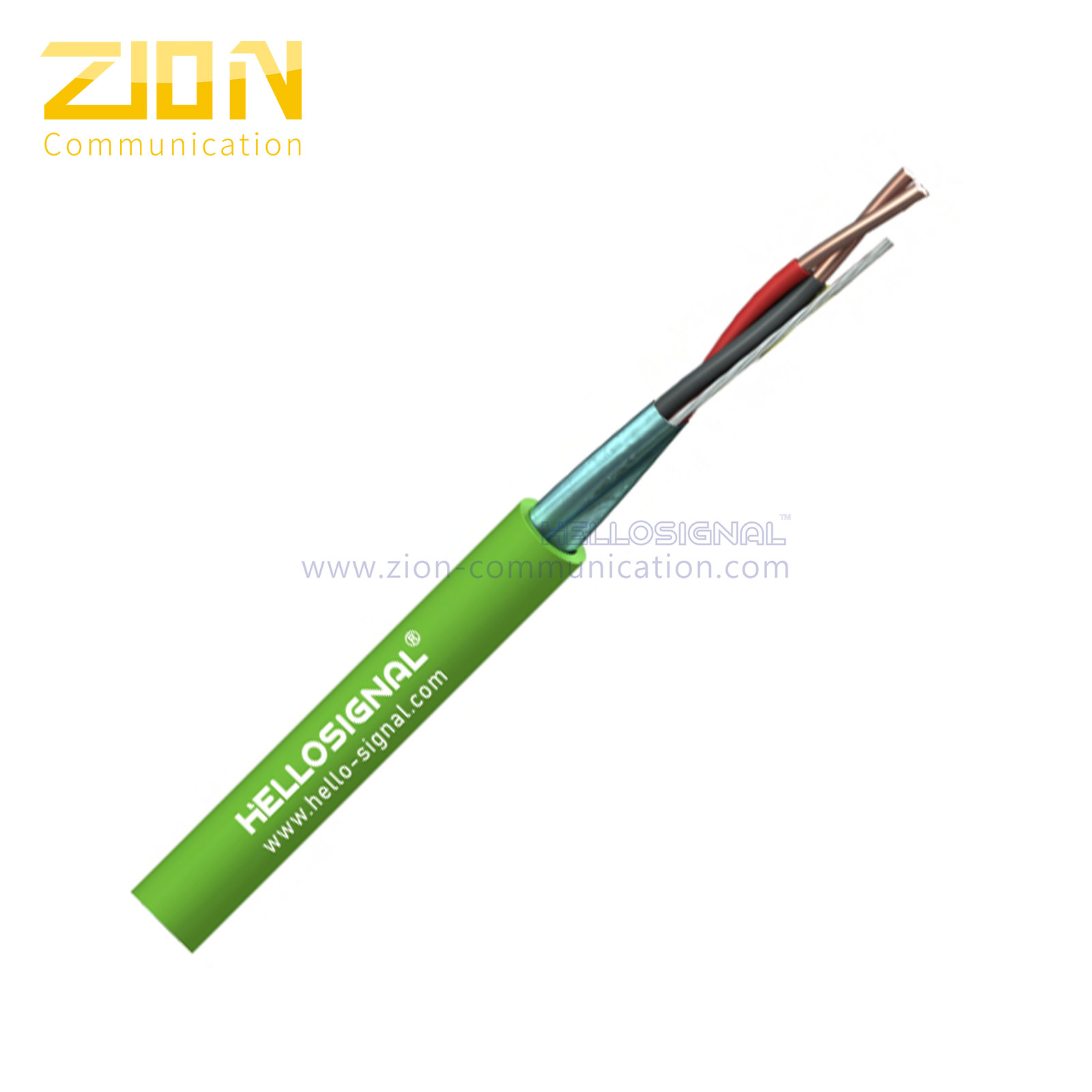 1 Pair 0.8mm Knx cable LSHF GreenTechnical Datasheet Knx cable