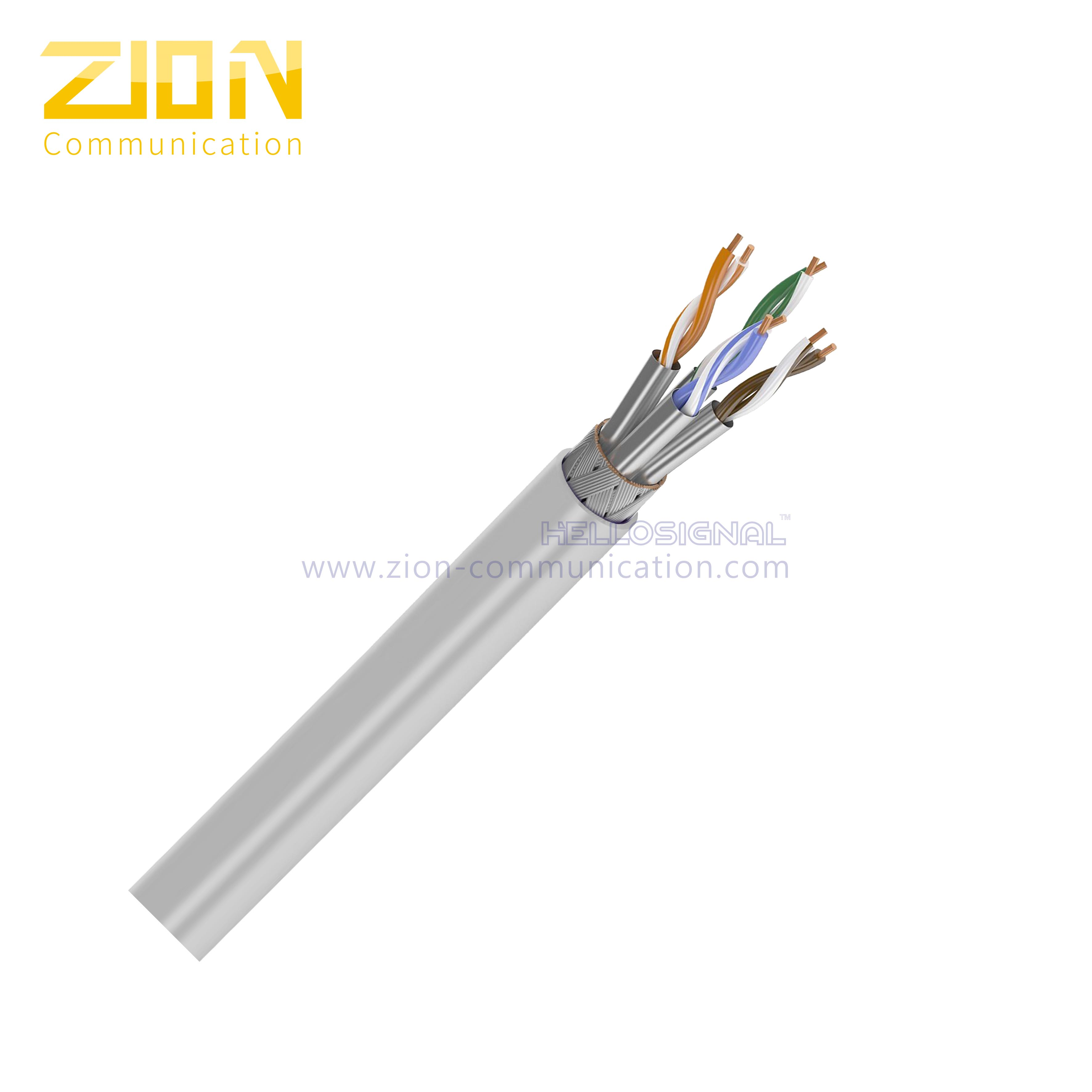 S/FTP CAT 7 Twisted Pair Installation Cable