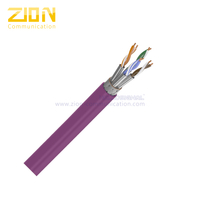 S/FTP CAT 7 BC PVC CM Twisted Pair Installation Cable